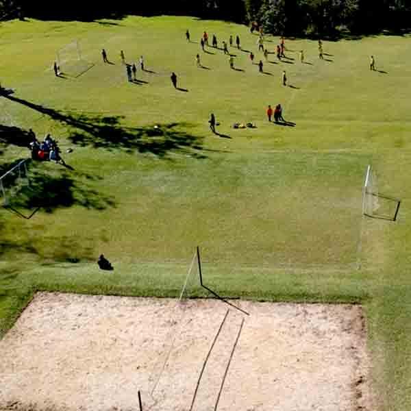 Campos futebol e vôlei para locação