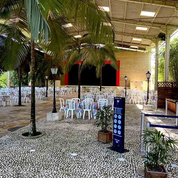 Restaurante do borboletário águias da Serra em são paulo